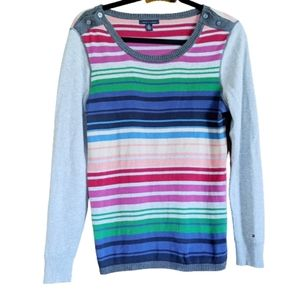 Tommy Hilfiger Sweater, Striped Top